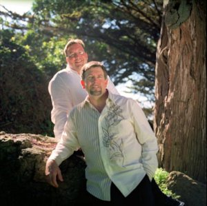 2004 Wedding Portrait of David and Jeff Janis-Kitzmiller (photo by Jessica Hobbs and Felicia Carlisle)
