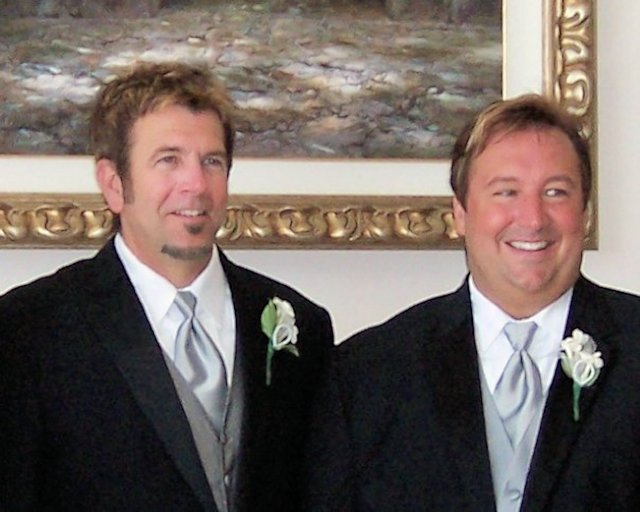 David (right) and Jeff Janis-Kitzmiller were the first same-sex couple married in Solano County in 2008