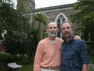 Voorheis (left) and Sabatino